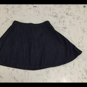Hot Kiss Skylar Skirt Denim Skater Skirt sz 7